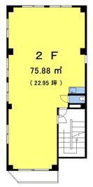 ミルフォード高円寺2Fの間取り図