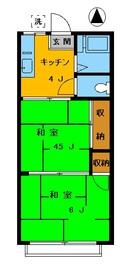 シティ ジュン202 の間取り図