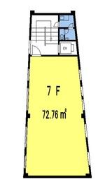 野方ビル 7Fの間取り図