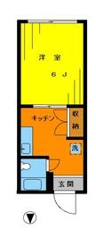 サンハイツ・新高円寺101の間取り図