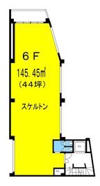 福丸ビル6Fの間取り図